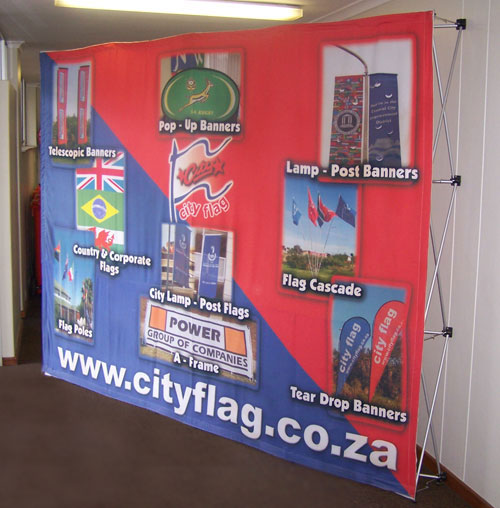 City Flag Banner Wall