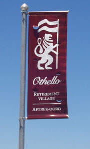 City Flag Pole Banners